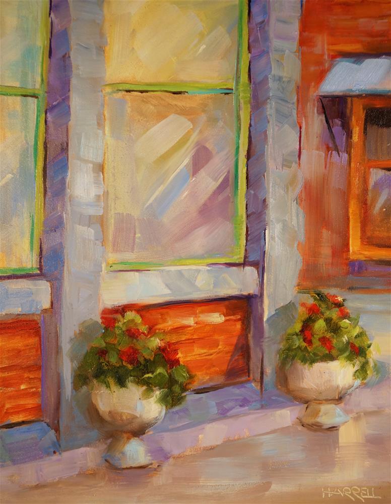 """Oakland"" original fine art by Sue Harrell"