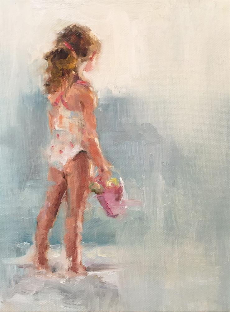 """""""Evie"""" original fine art by Marcia Hodges"""