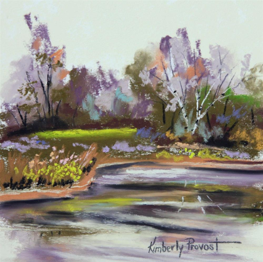 """""""Bright Spring Day"""" original fine art by Kimberly Provost"""