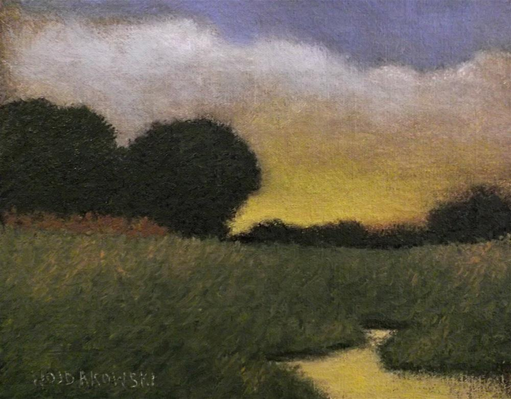 """Evening glory"" original fine art by Joe Wojdakowski"