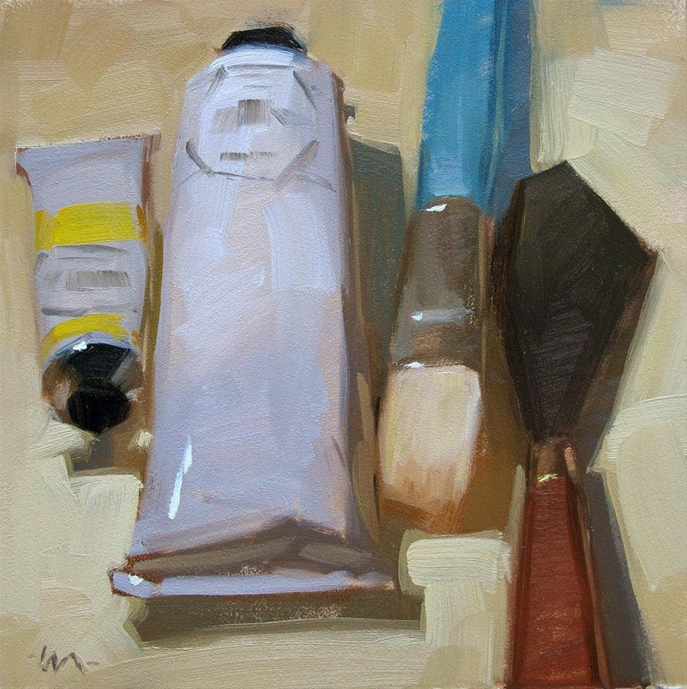 """Tools of the Trade"" original fine art by Carol Marine"