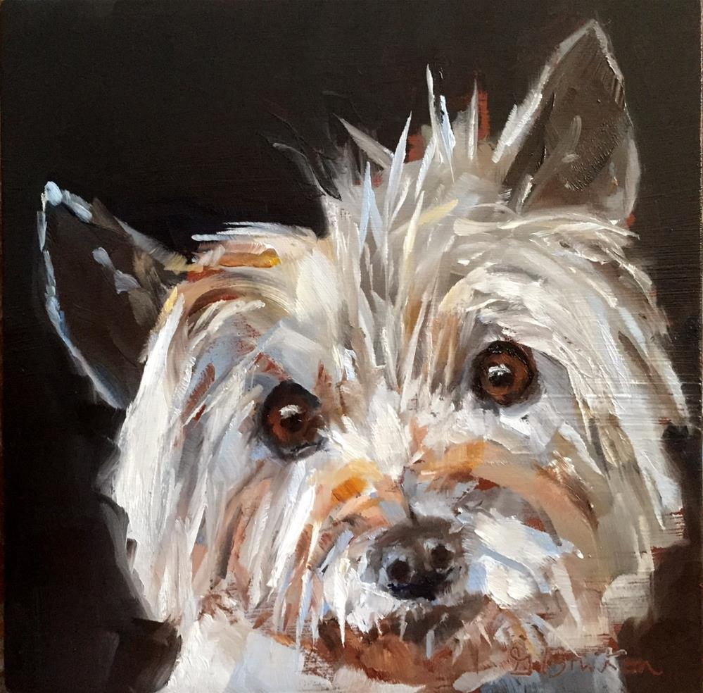 """Bailey"" original fine art by Gary Bruton"