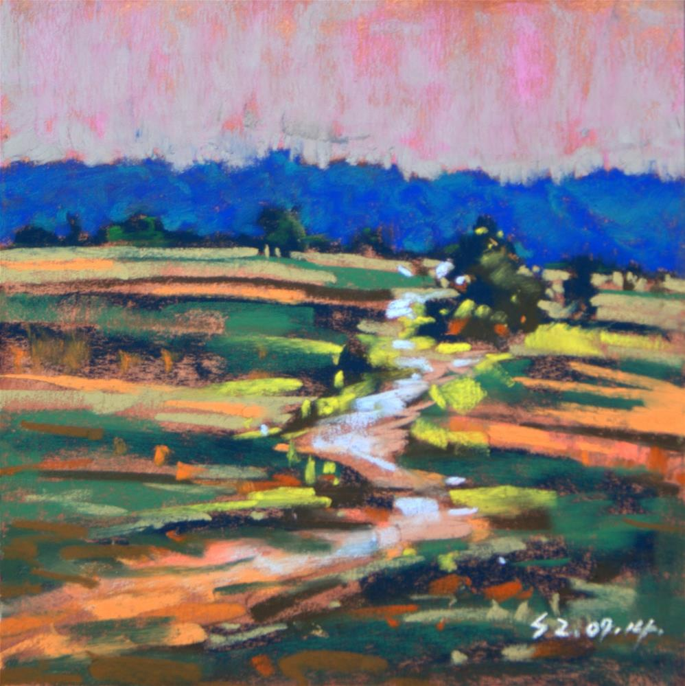 """Country Road"" original fine art by Sabrina Zhou"
