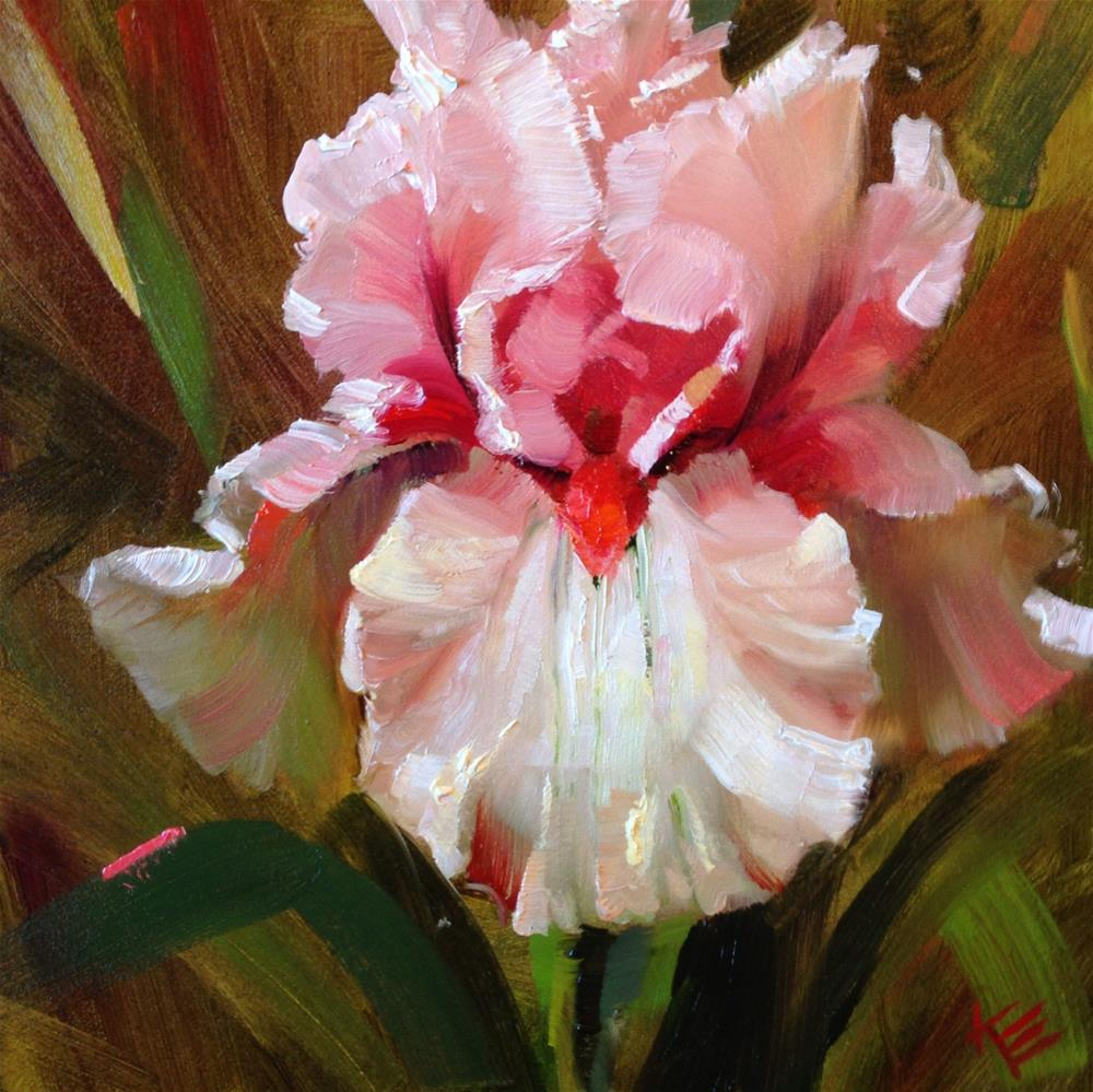 """Blushing Beautiful"" original fine art by Krista Eaton"