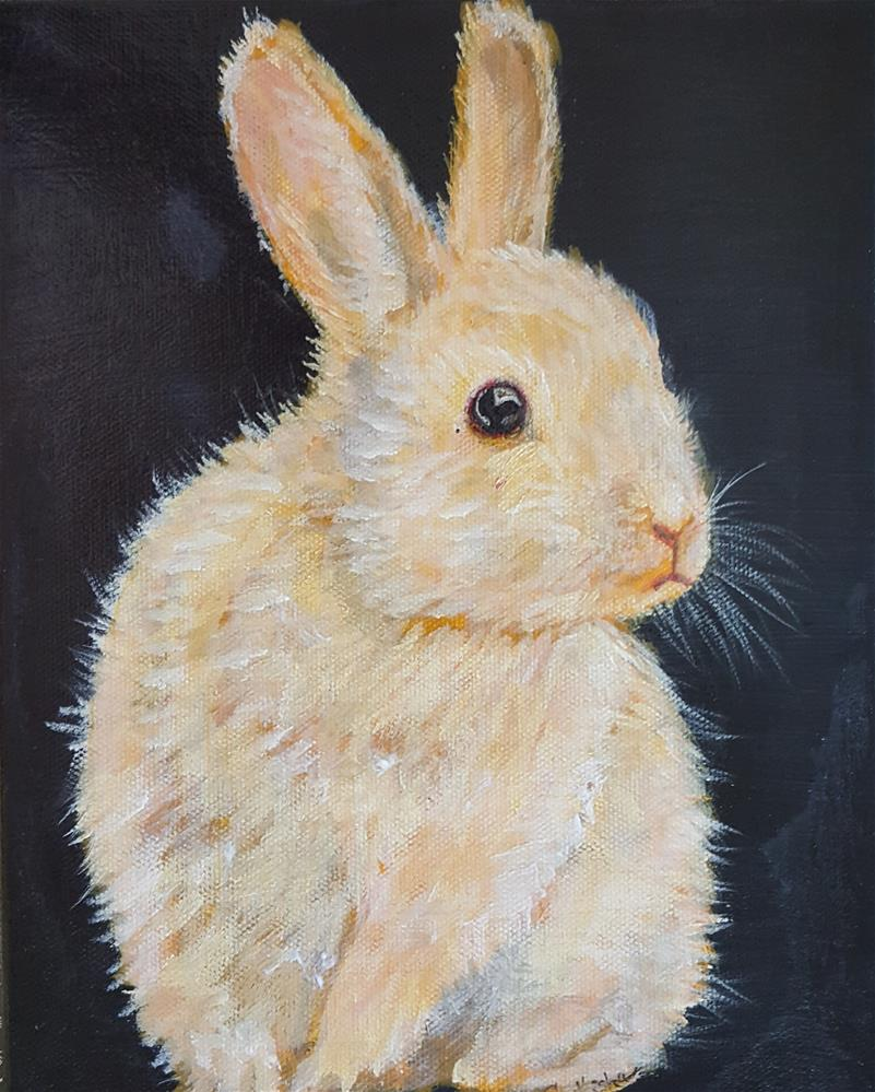 """Bunny"" original fine art by Phyllisha Hamrick"