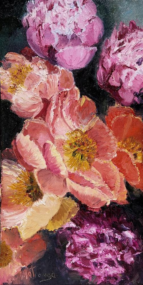 """Becoming Blossoms - II"" original fine art by Patricia Matranga"