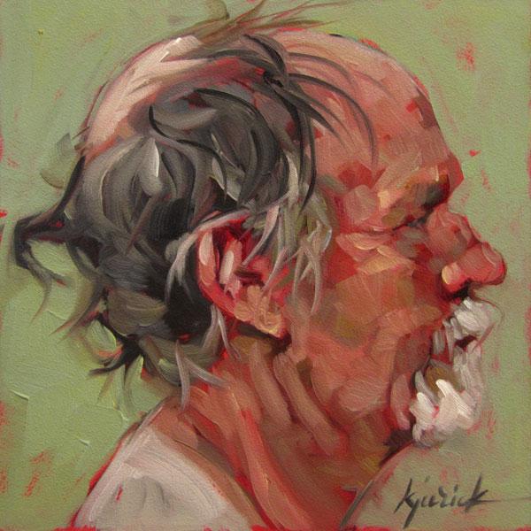 """Dickens Inspired Mugshots"" original fine art by Karin Jurick"
