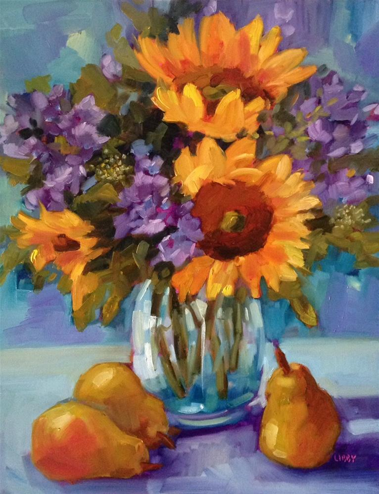 """Sunny Convocation"" original fine art by Libby Anderson"