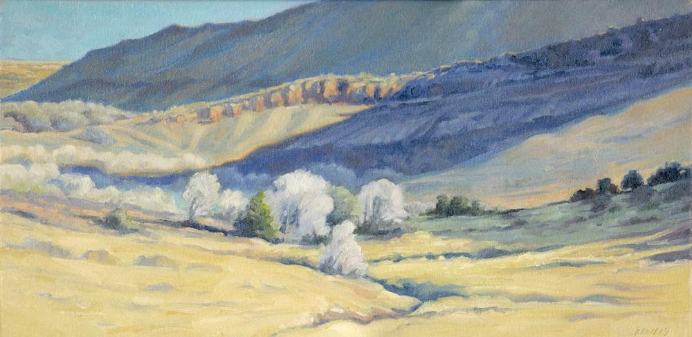 """Shadowed Hills"" original fine art by Kath Reilly"
