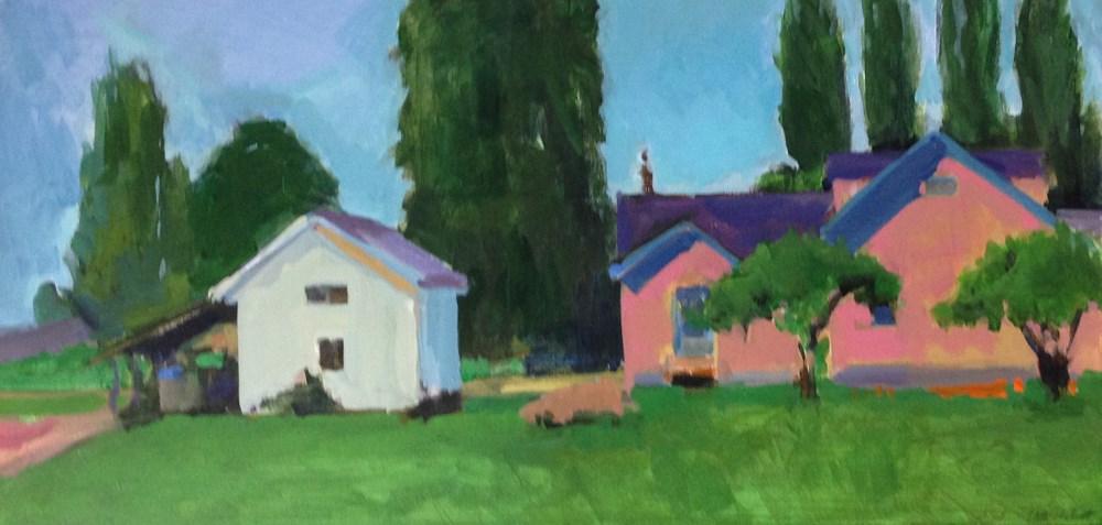 """Moving Away"" original fine art by Patti McNutt"