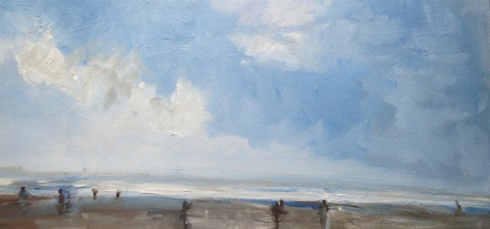 """Seawater smell"" original fine art by Astrid Buchhammer"