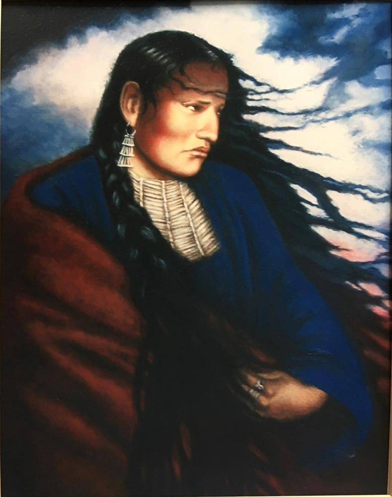"""Thundersquaw"" original fine art by Karen Roncari"