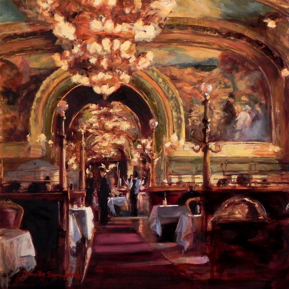 """Ornate Interior II"" original fine art by Jonelle Summerfield"