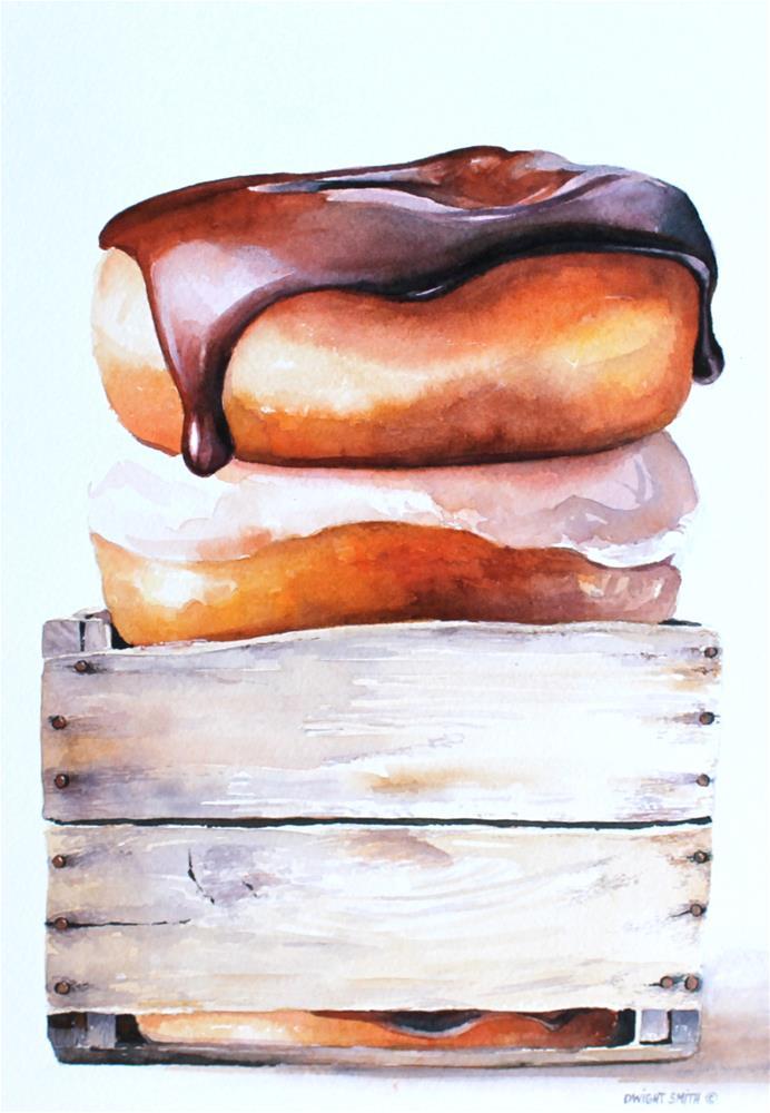 """ HARVEST FRESH "" original fine art by Dwight Smith"