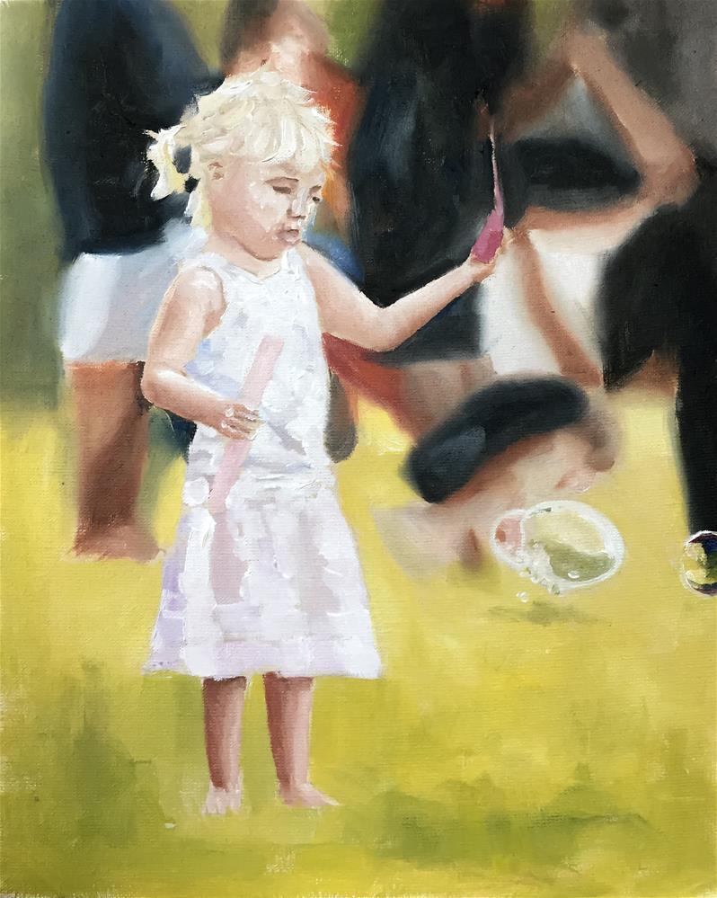 """""""Bubbles"""" original fine art by James Coates"""