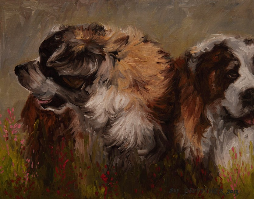 """Chuck's Boys"" original fine art by Sue Deutscher"