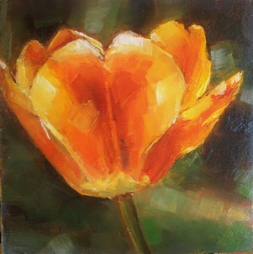 """""""Kissed by the sun"""" original fine art by Maria Z."""