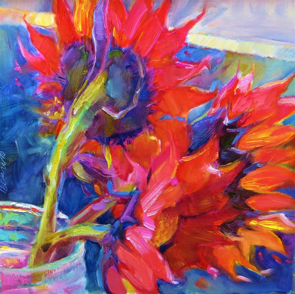 """My Sunny Valentine"" original fine art by Scarlet Owl Studio"