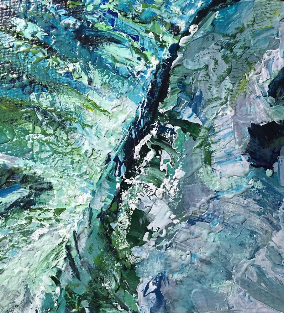 """Wave"" original fine art by cheryl buhrman"