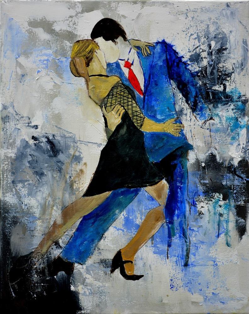 """Tango"" original fine art by Pol Ledent"