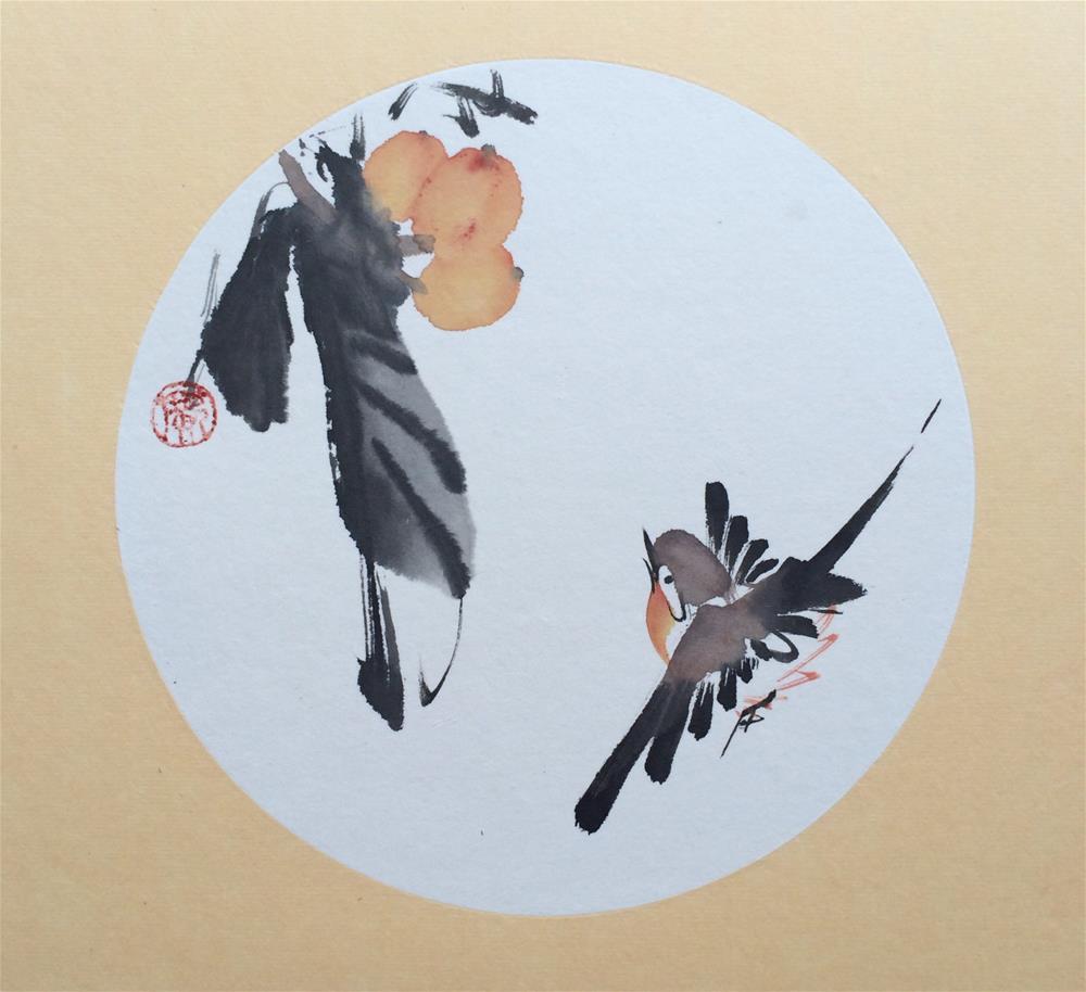 """Loquat"" original fine art by R kwong"