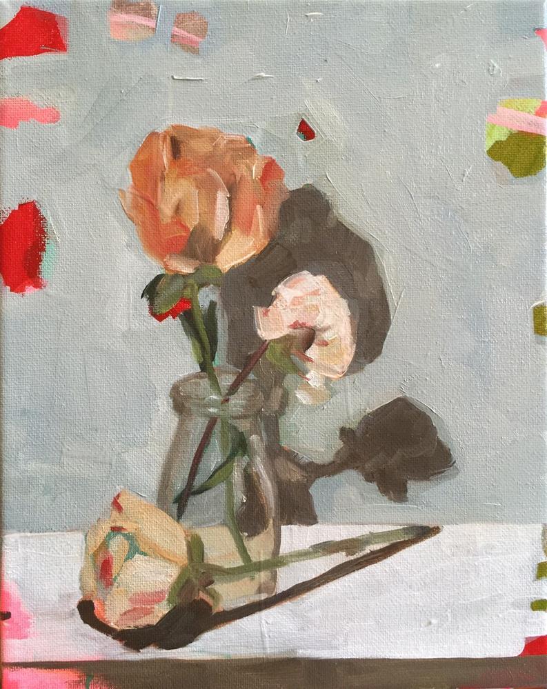 """285 Dried Peonies"" original fine art by Jenny Doh"
