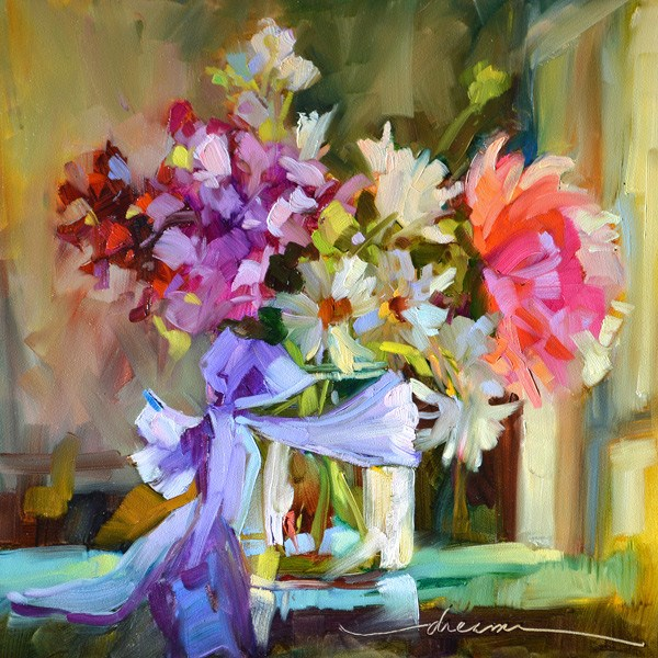 """Leaning Into JOY…and Marco Island Workshops II & III"" original fine art by Dreama Tolle Perry"