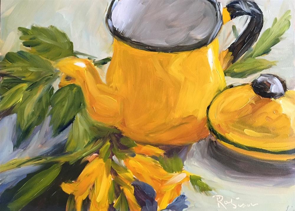 """""""Golden Splendor"""" original fine art by Renee Robison"""
