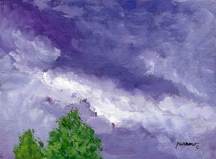 """Short series from July 28th"" original fine art by Sue Furrow"