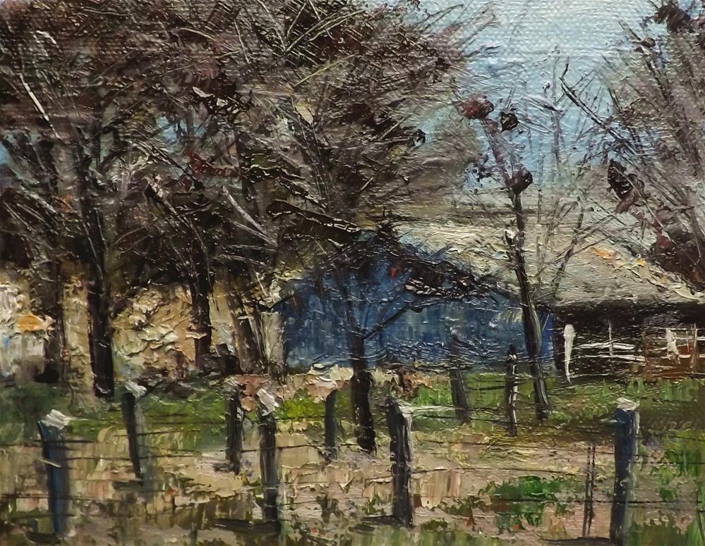 """Landscape,j21"" original fine art by Run-      Zhang Zane"