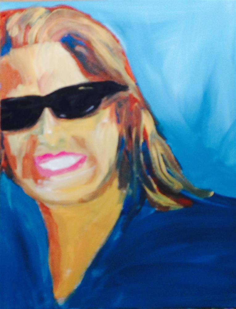 """Jessica"" original fine art by Brenda Smith"