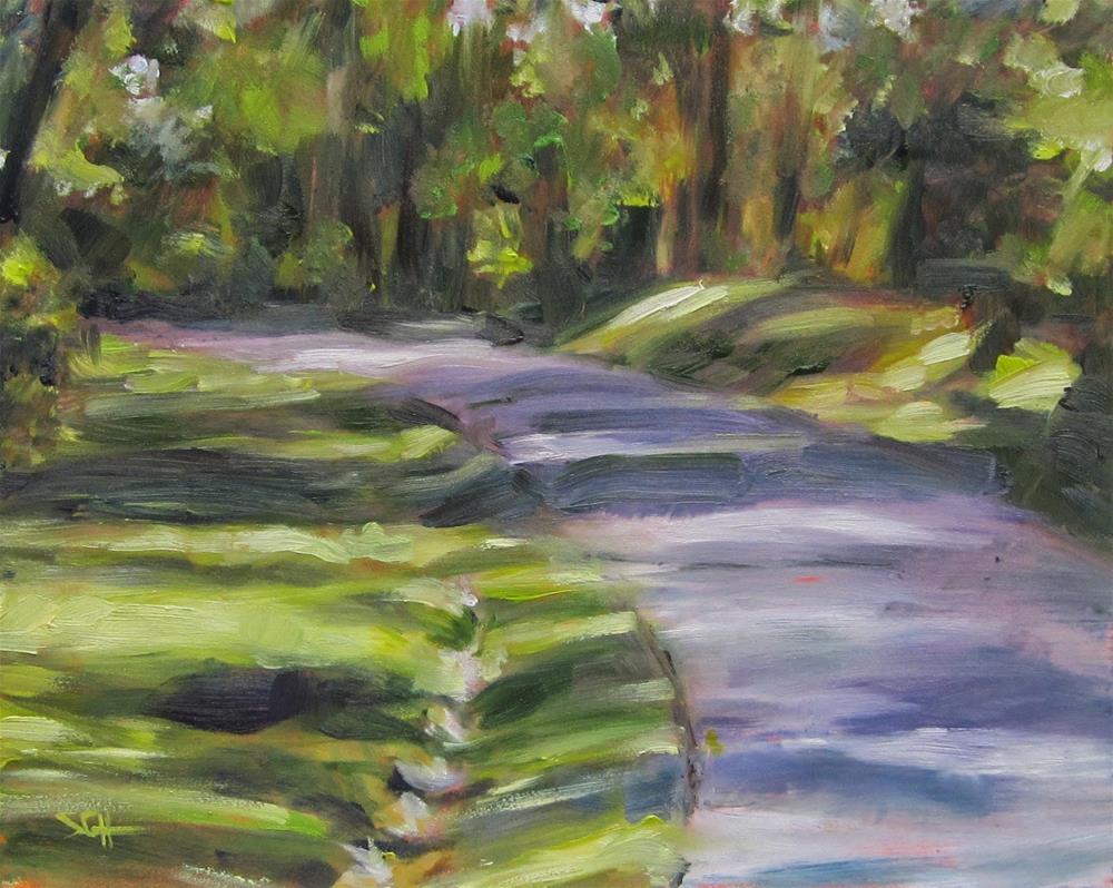 """Kentucky Dam Village"" original fine art by Sandy Haynes"