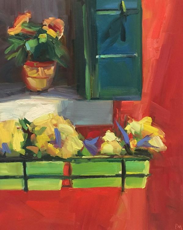 """""""Burano Color Competition"""" original fine art by Patti McNutt"""