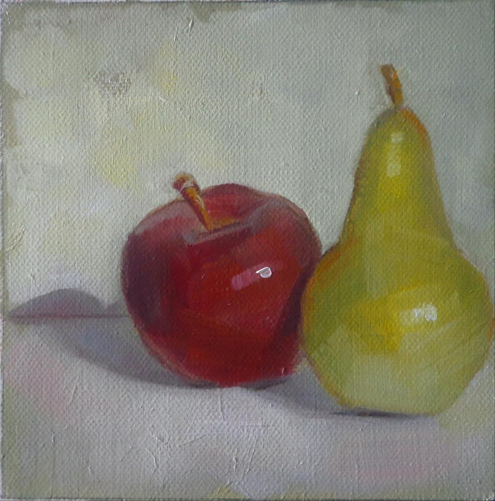 """Fruit"" original fine art by Maria Z."