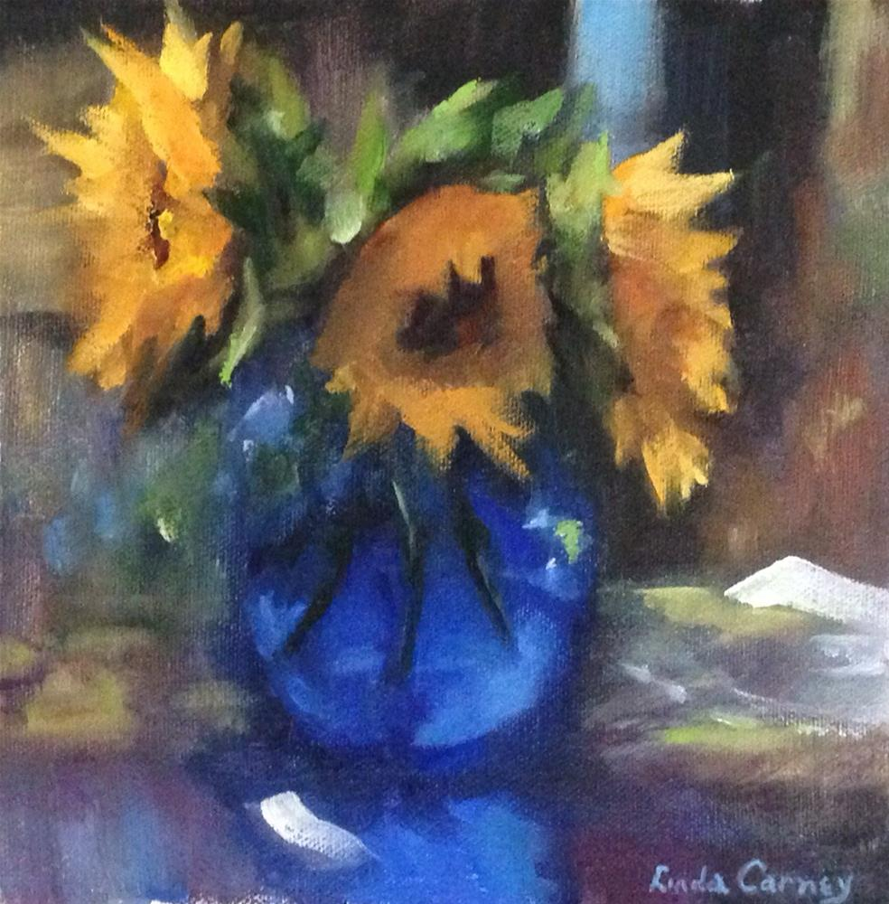 """It's all about that Vase"" original fine art by Linda Carney"