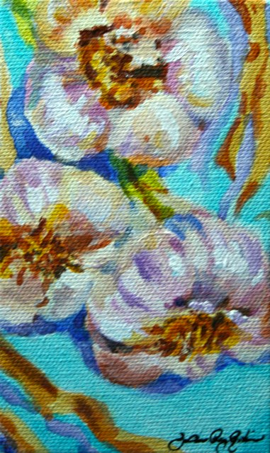 """Celebrating the Bulb"" original fine art by JoAnne Perez Robinson"