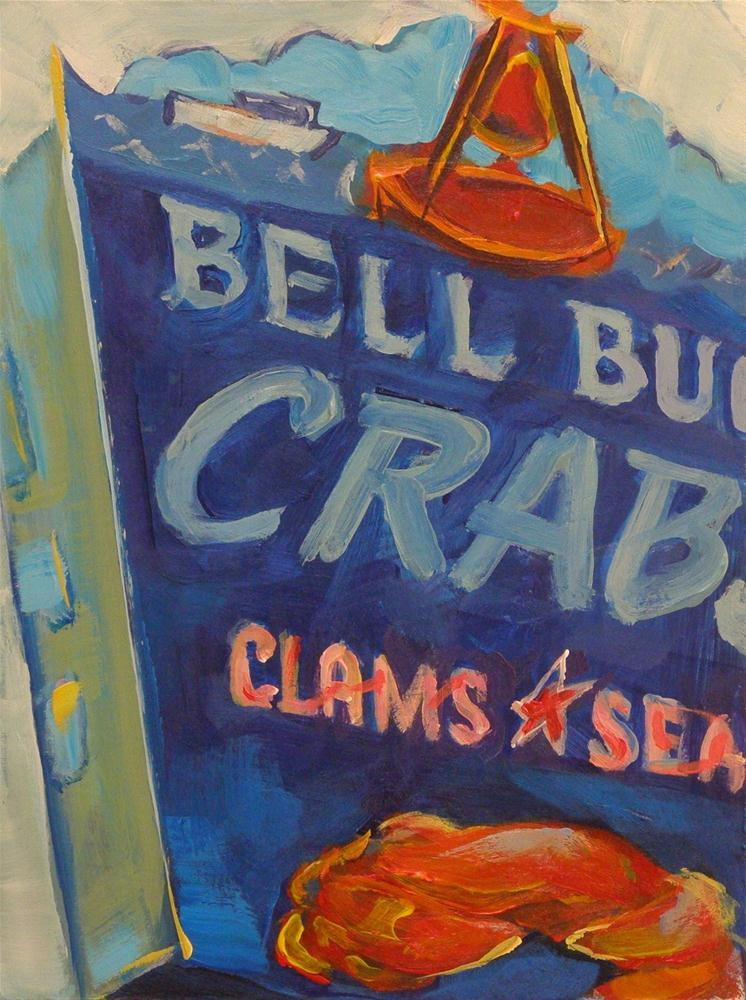 """BELL BUOY CRAB CO."" original fine art by Brian Cameron"
