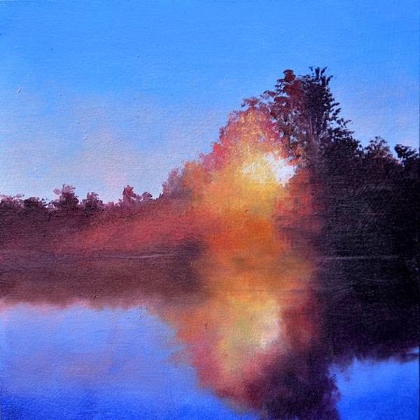 """""""DAYDREAM"""" original fine art by Gerald Schwartz"""