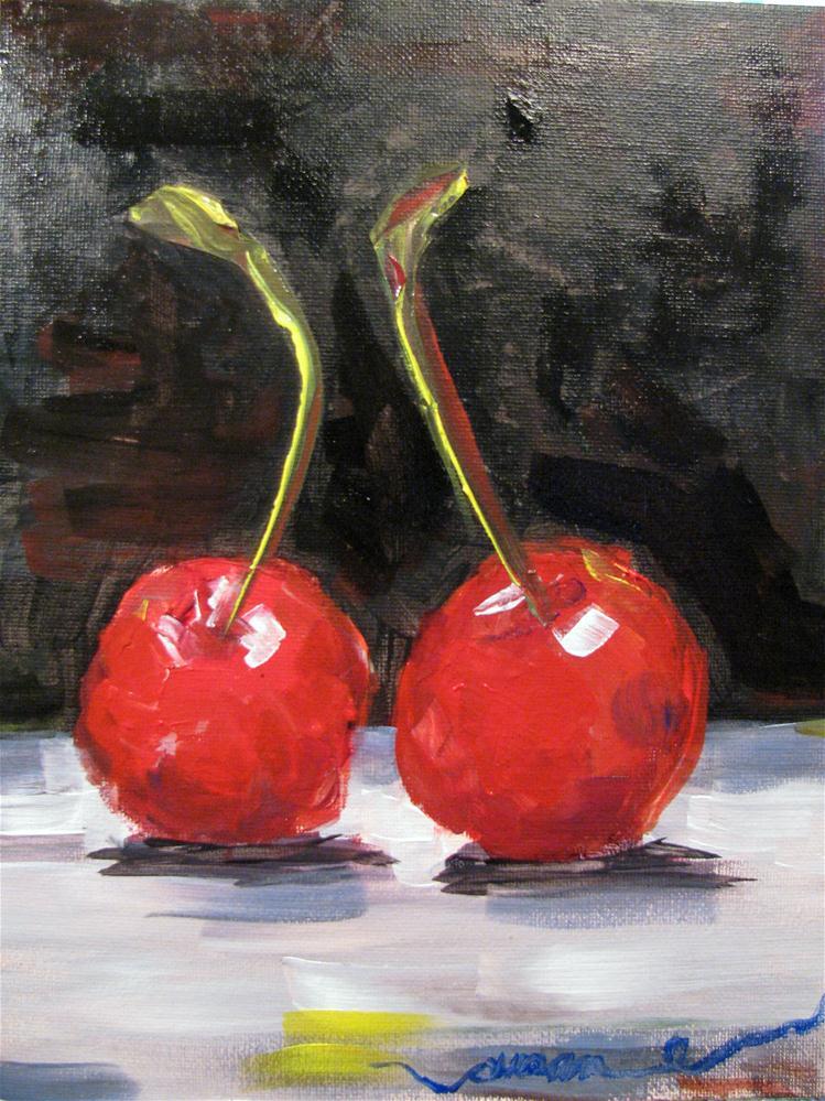 """""""Cozy"""" original fine art by Susan Elizabeth Jones"""