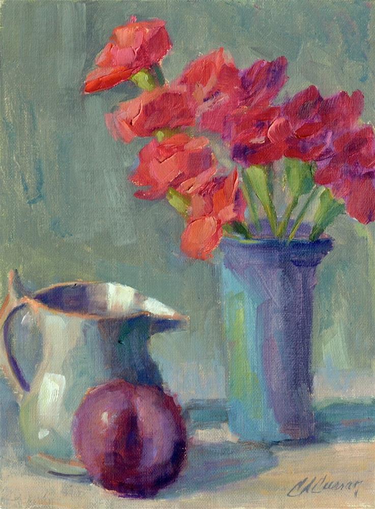"""""""Mini's"""" original fine art by Cheryl A Curran"""