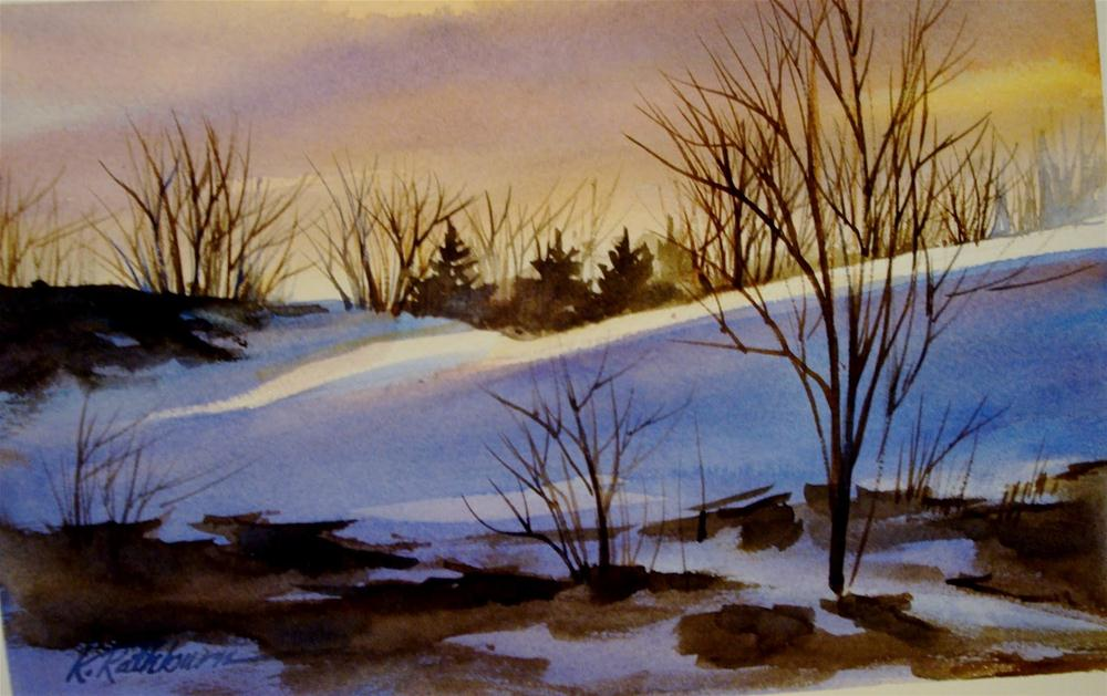 """Dunes series X"" original fine art by Kathy Los-Rathburn"