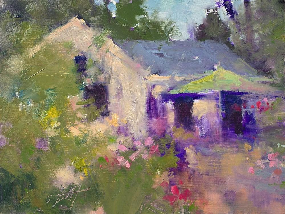 """Summer Retreat II"" original fine art by Todd Zuithof"