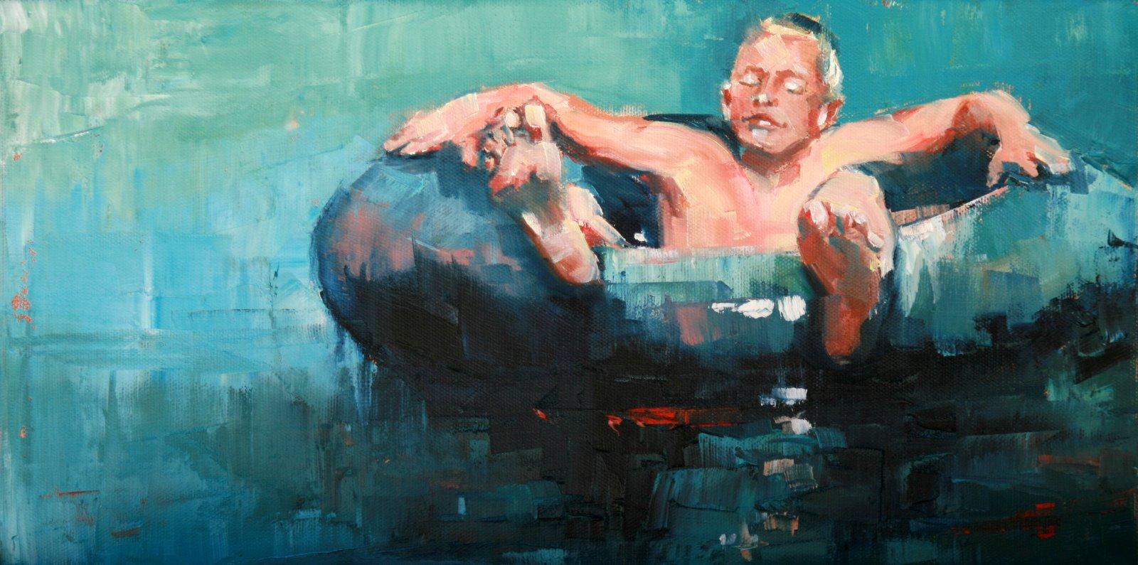 """time out"" original fine art by Carol Carmichael"