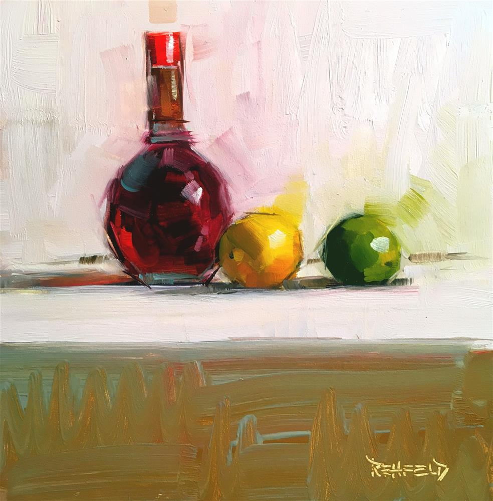 """Red Wine Vinegar"" original fine art by Cathleen Rehfeld"