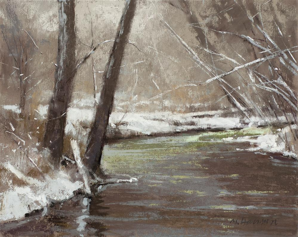 """2-23-1 South Boulder Creek"" original fine art by Marc Hanson"