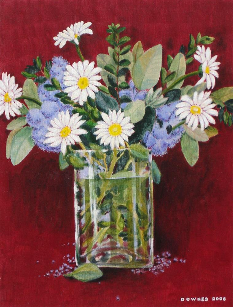 """301 SUMMER DAISIES"" original fine art by Trevor Downes"