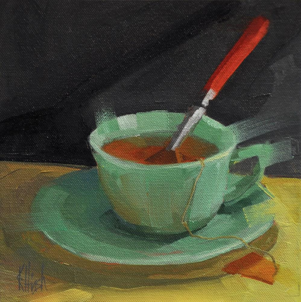 """Patt's Cup 1"" original fine art by kathy hirsh"