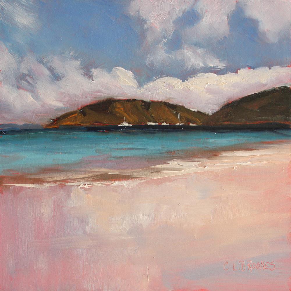 """Cloud Reflections"" original fine art by Claudia L Brookes"