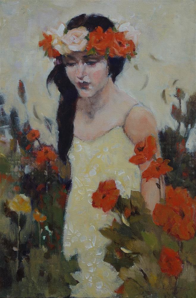 """""""Golden Day"""" original fine art by Lorraine Lewitzka"""