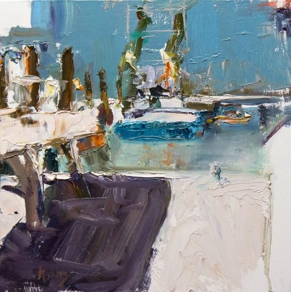 """Mid Summer"" original fine art by Randall Cogburn"